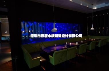 杭州马克菲姆西餐厅亚克力水母缸